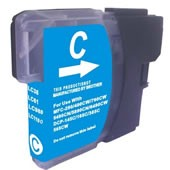 Compatible Brother LC1000 Cyan Ink Cartridge