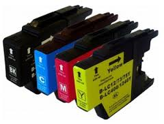 Compatible Brother LC1280 XLVALBP Mutipack Ink Cartridges