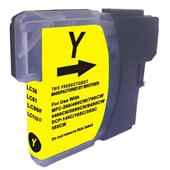 Compatible Brother LC980Y Yellow XL Ink Cartridge