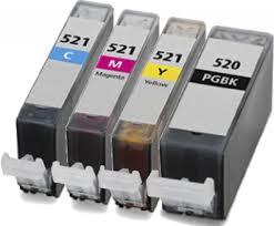 Canon CLI-521 and PGI-520 Muti Pack Ink Cartridges