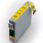 COMPATIBLE Epson T714 Yellow Ink Cartridge Chipped