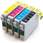 COMPATIBLE Epson T715 Mutipack Ink Cartridges Chipped