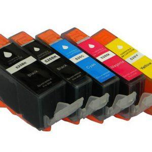 Canon PGI-525 PGBK and CLI-526 Series Muti Pack