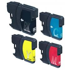 Compatible Brother LC980 MutiPack XL 4-pack Ink Cartridge LC980VALBP