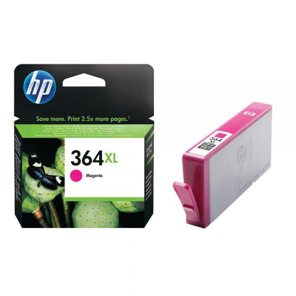 HP 364xl_magenta_ink_cartridges_DeskJet 3070)3520_HP_PhotoSmart_5510_5520_5525_6510_6520_7510_7520_all-in-one_B8550_C5380_C6380_D5460