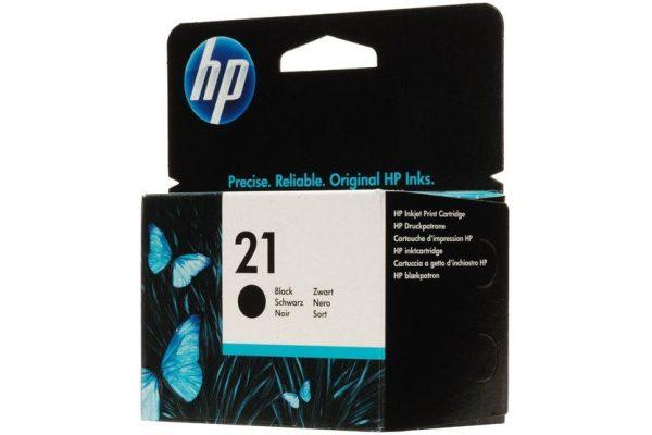HP 21 Black Ink-swords-Dublin-ireland