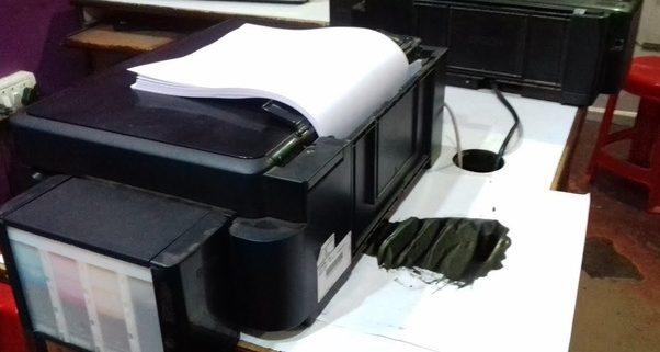 ink_leaking in my printer