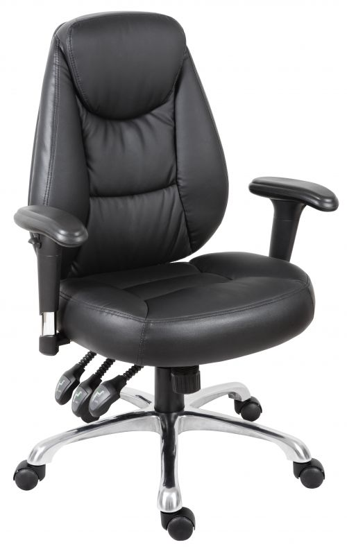 Teknik 6902 Portland Black Operator Chair-swords-Dublin-Ireland