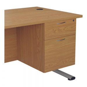 Jemini 2 Drawer Fixed Pedestal 404x655x495mm Nova Oak Office Plus #1 in Swords, Dublin, Ireland.