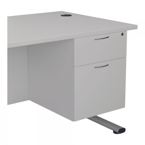 Jemini 2 Drawer Fixed Pedestal 404x655x495mmWhite KF74416 Office Plus #1 In Swords, Dublin, Ireland.