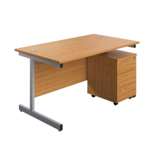 Desk with 3 Drawer